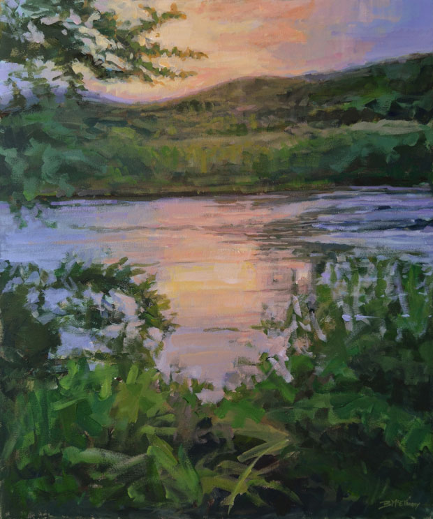 French Broad River Painting