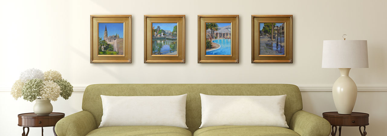 Turn your home into your own private art gallery
