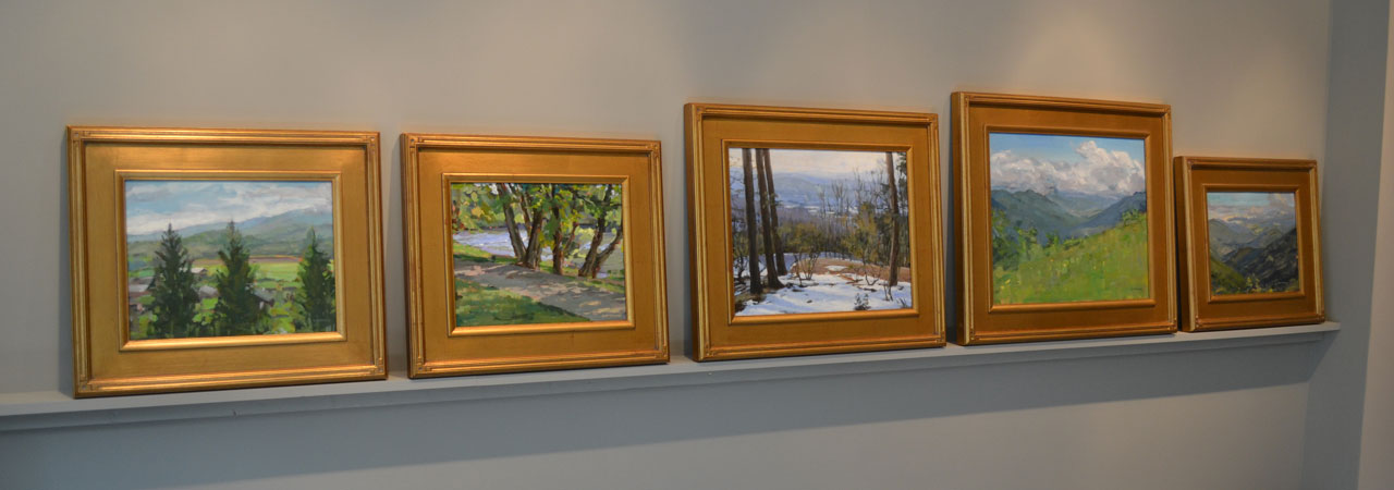 Paintings ready for display in your home