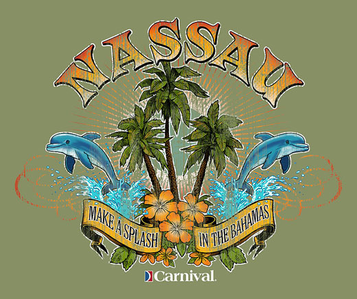 Nassau Bahamas Bmcelhaney Illustration Graphics