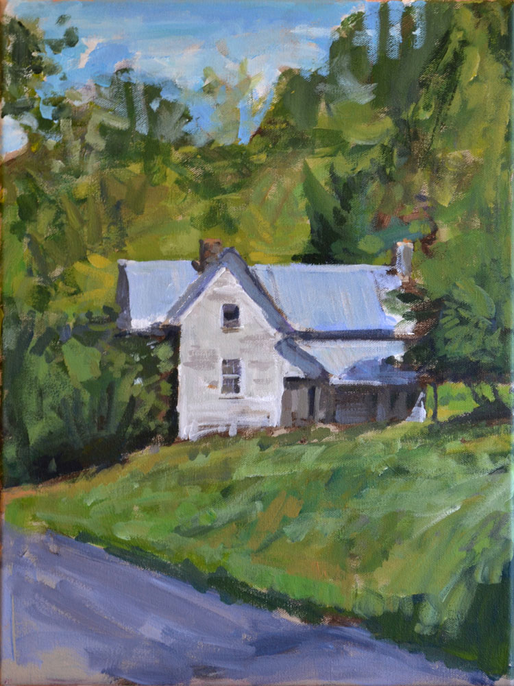 Old Appalachian House Painting