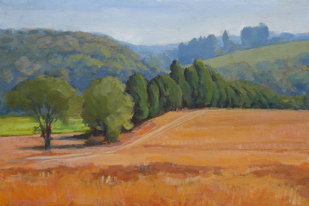Rolling Hills Painting Eastern Tennessee
