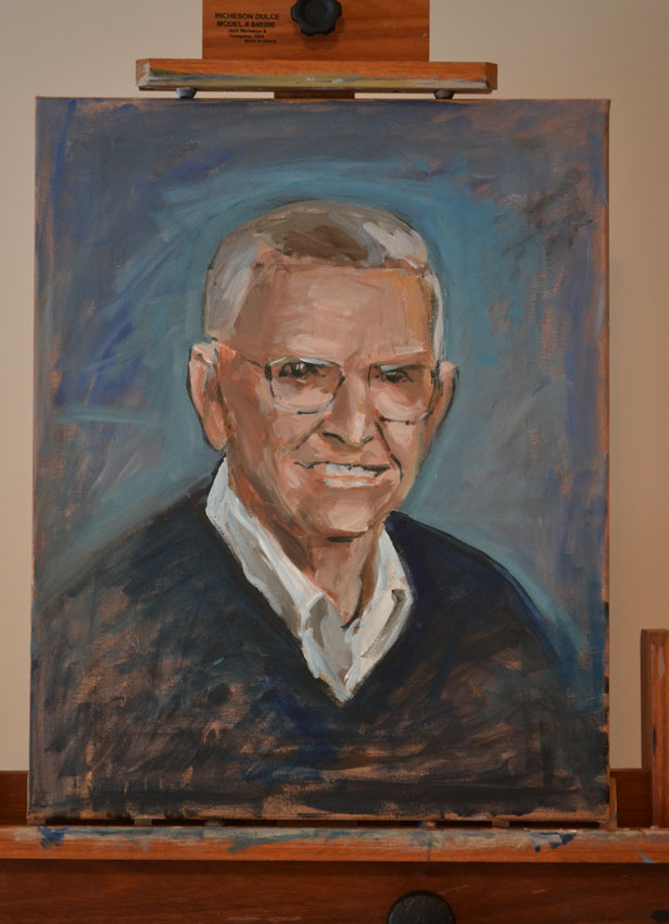 Portrait of my dad - in progress