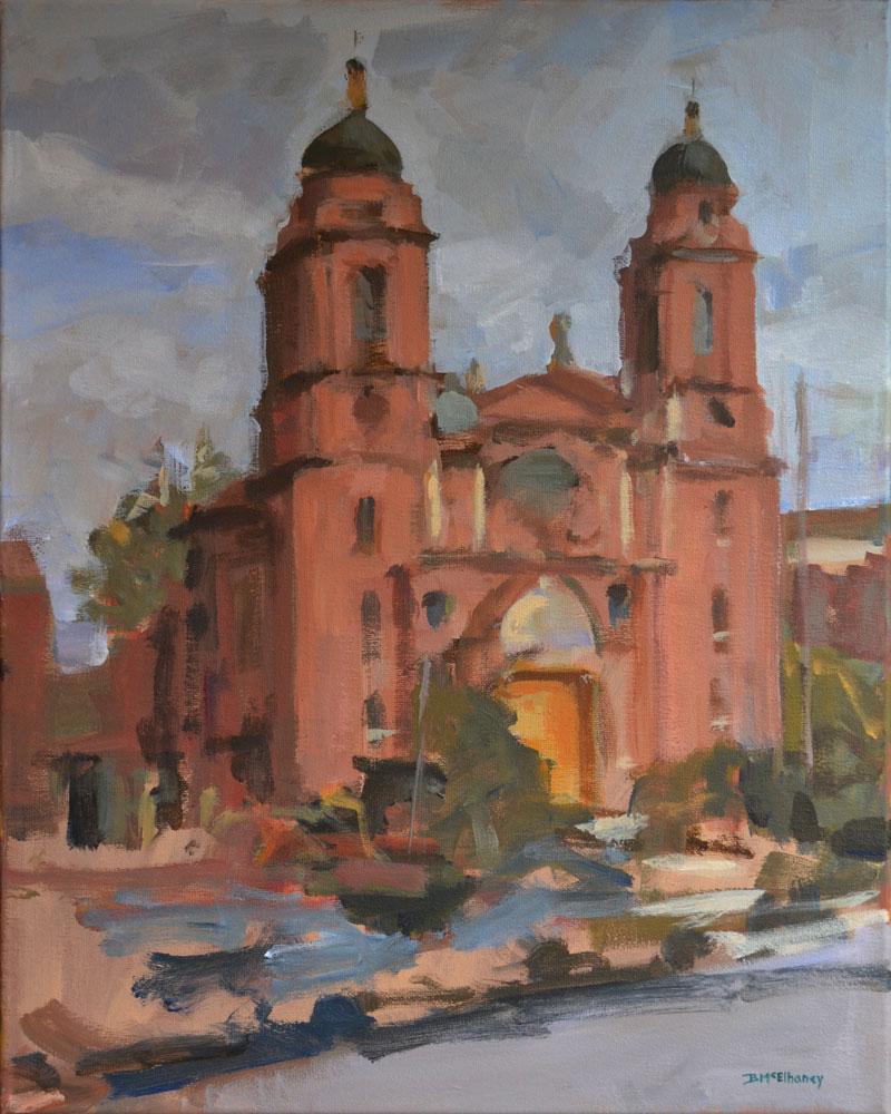 Basilica St Lawrence Bmcelhaney Studio Artist Brennen