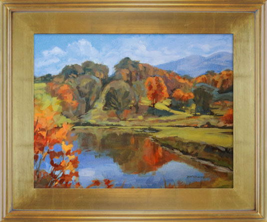 High-Country-Lake-BMcElhaney-14x18-Framed-VC2
