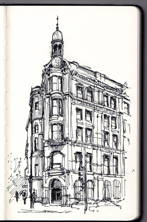 Washington DC Architecture-Sketch-850