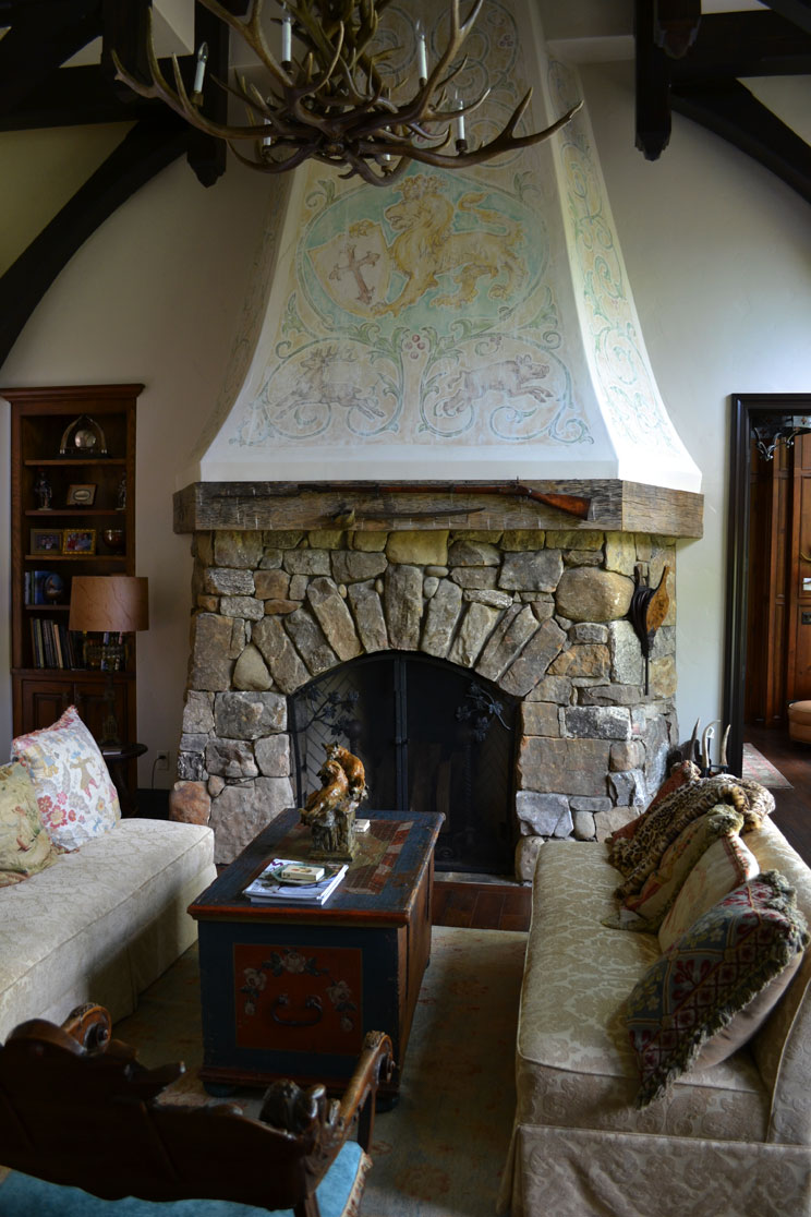 Fireplace Mural (Wide)
