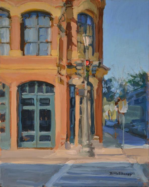 Charleston SC Street Corner Painting