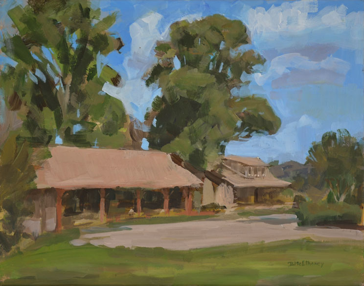 Flat Rock Park Painting