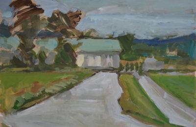 Service Road – Mills River Park