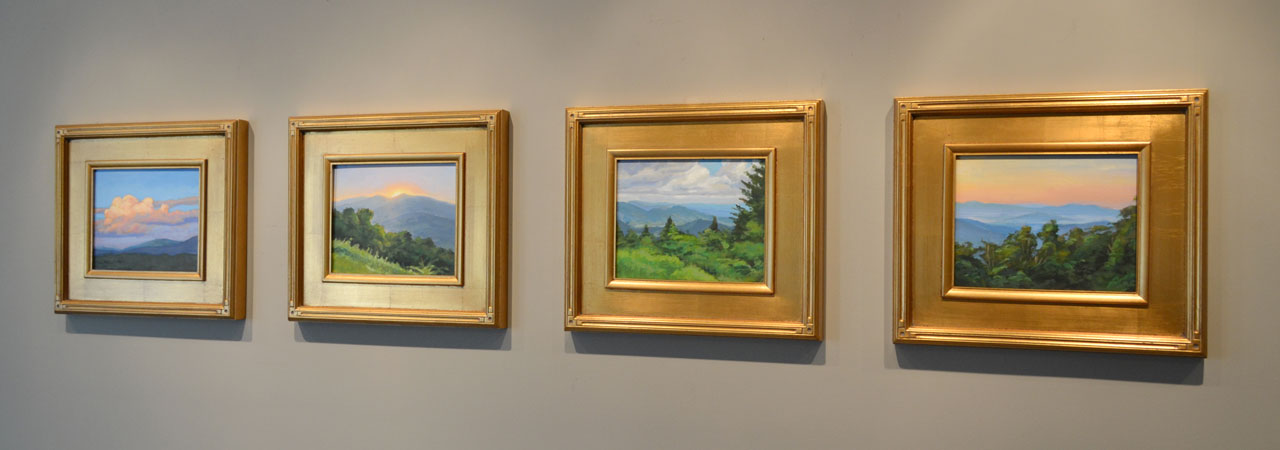 New Painting Collection: Blue Ridge Views