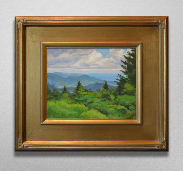 Painting of View from the Appalachian Trail Roan Mountain