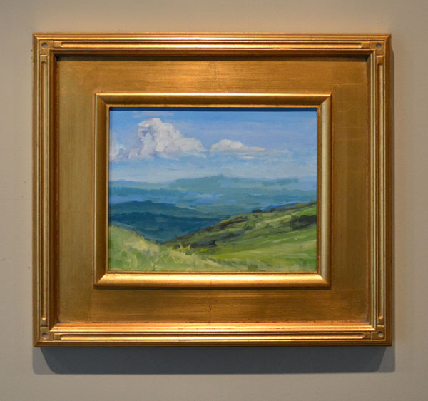Painting from Carvers Gap Appalachian Trail
